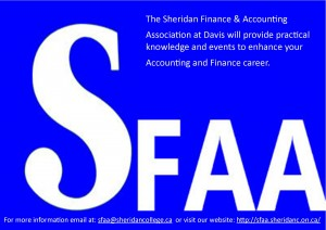 Sheridan Finance and Accounting Association